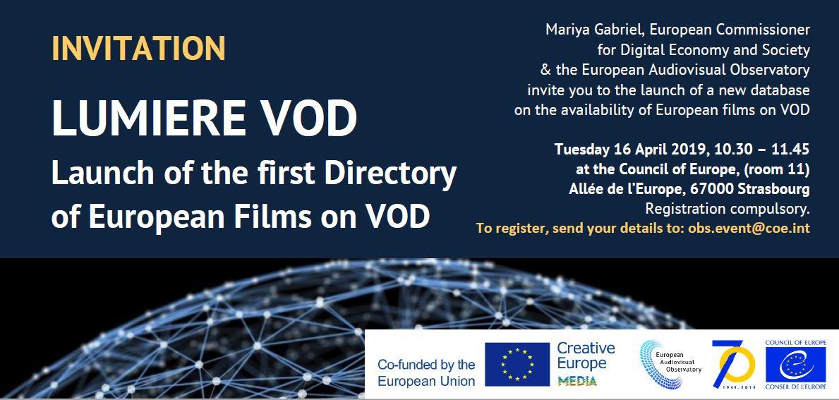 Стартира бета версията на LUMIERE VOD - първата директория на европейските филми на VOD