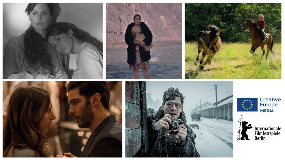 """Пет филма, подкрепени от МЕДИА, се състезават тази година за """"Златната мечка"""""""