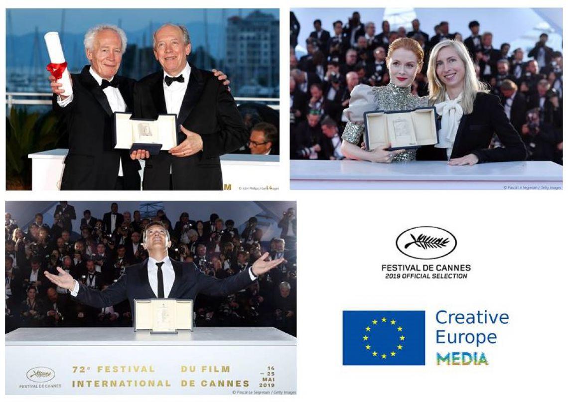 Три филма, подкрепени от МЕДИА с престижни награди в Кан